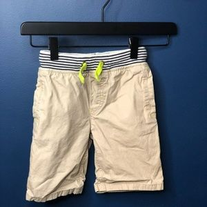 Mini Boden Boys Khaki Chino Shorts 4